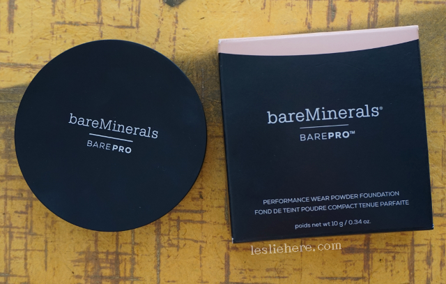 Tuesday Reviews-day: bareMinerals barePRO Performance Wear Powder Foundation