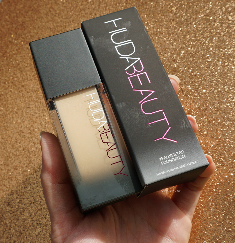 Huda Beauty Fauxfilter Foundation Review Leslie Here