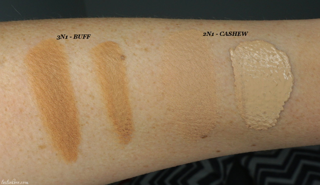 Laura-Mercier-Flawless-Fusion-Ultra-Longwear-Foundation-swatches-2n1-3n1