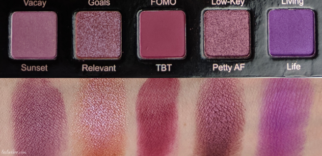 Violet-Voss-Hashtag-Pro-Eyeshadow-Palette-swatches-4th-row