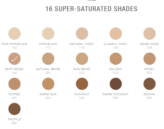 Maybelline SuperStay 16 Shades